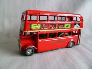 Triang Doppeldeckerbus Aus Blech 60er Jahren Bild