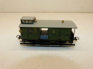Trix Ho 1/87 Alter Gepäckwagen 109 081 Reichsbahn M.  Schlußlicht Bild