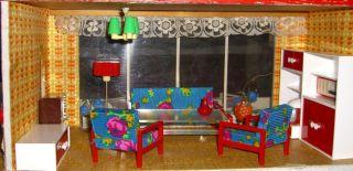 Puppenstubenmöbel - Möbel Für Die Puppenstube - Wohnzimmermöbel Vero (rot) Bild