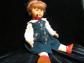 1 Käthe Kruse Puppe Albertinchen Neuwertiger,  Sammlerstück Bild