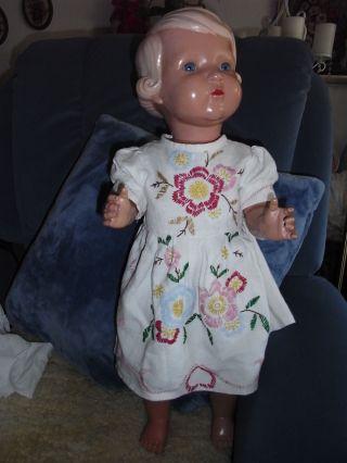 Schildkröt - Puppe Inge Alt 64 Cm Bild