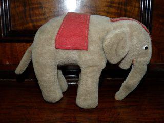 Alter Stoffelefant Bild