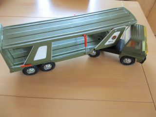 Gozan Tigre Car 1970er Jahre Militär Transporter Blech,  Made In Spain Bild