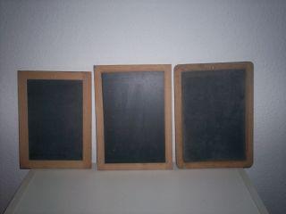 3 Kreidetafeln Bild