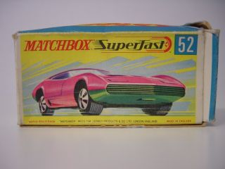 Matchbox Superfast 52 Dodge Charger Mk Ii Ovp Bild