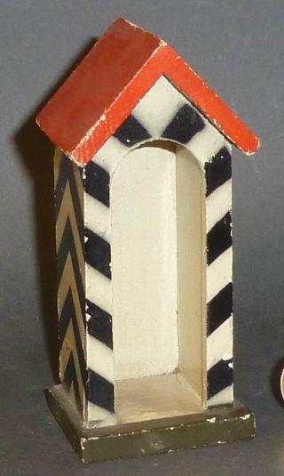 Altes Lineol Wachhaus Zu Elastolin 6,  5cm Serie Bild