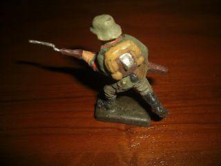 Lineol V.  1935 Soldat Laufend Bild
