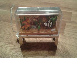 Puppenstubenzubehör Aquarium Bild