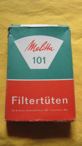 Melitta Kaffee Filter Tüten 101 Weiss Classic 15 Stück Rest Zu Puppenküche Bild