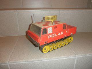 Ddr - Blechspielzeug Polar 1 Kettenfahrzeug / Bastler,  Defekt Bild