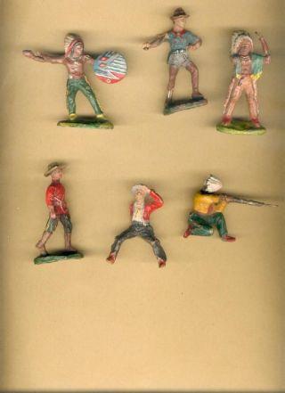 Konvolut : Aufstellfiguren - Massefiguren (lineol,  Elastolin,  Tipple Topple) Bild