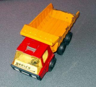 Blechauto Kipplaster 50er Jahre Bronco Made In Spain Vintage Bild
