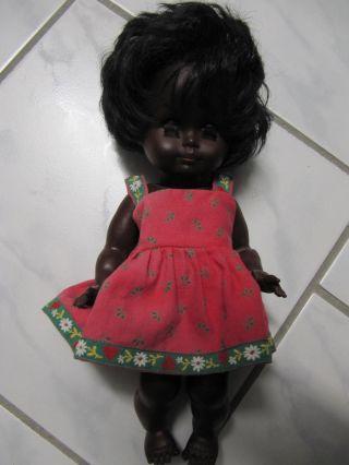 Alte GÖtz - Puppe Dunkelhäutig 70iger Jahre Rarität Bild