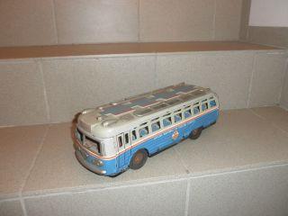 Blechspielzeug - Großer Alter Bus / Sammler,  Bastler,  Defekt - Viel Bespielt Bild