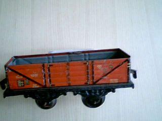 Spur 0 Zweiachsiger Keim (kraus) Güterwagen 1251 Omnk Länge 13 Cm Bild