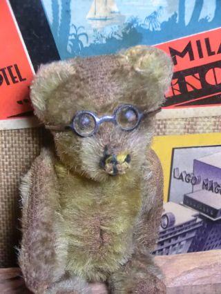 Schuco Vorkriegsbär Mit Brille Bild