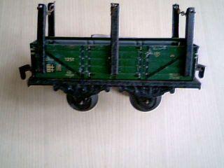 Spur 0 Zweiachsiger Keim (kraus) Rungenwagen 1251 Omnk Länge 13 Cm Bild