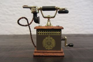 Bodo Hennig - PuppenstubenzubehÖr - Telefon - Antik Und ZubehÖr Bild