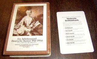 Stil - Arten - Quartett / Ein Jahrtausend Deutsche Kunst 950 - 1950 Bild