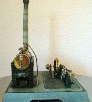 Märklin Dampfmaschine Steam Engine Blechspielzeug (4095/5,  Um 1955 Bild