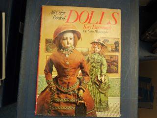 Antike Puppen - Bücher 2stk Dolls,  Dolls1xantiques,  1xart Nouveau,  Paperwe Bild