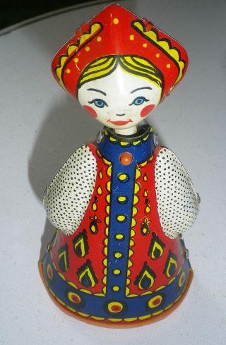 Tanzendes Mädchen - Aufziehbar - Blechspielzeug Um 1950/70 Bild