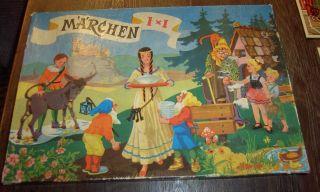 Altes Spiel Von Klee Märchen 1 X 1 2691 Bild