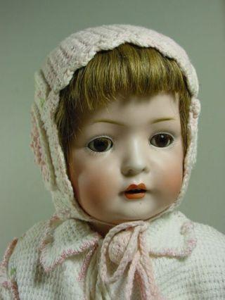 P762/ Altes Porzellan Baby Baer& Proeschild Für B.  Schmidt 50 Cm.  1911 Bild