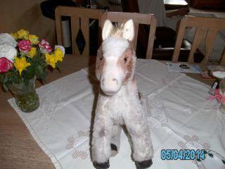 Steiff Pferd Alt GrÖsse LÄnge37cm KopfhÖhe 35cm Bild