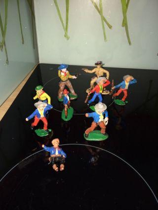Spielfiguren - Indianer,  Cowboy / Spielzeug,  Ddr Bild