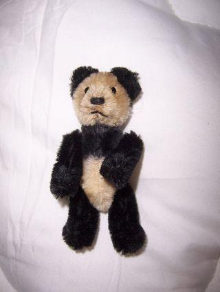 Steiff Panda,  9,  5 Cm,  60er Jahre,  Gegliedert,  Selten Ohne Kfs Bild