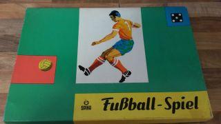 Fussball - Spiel Brettspiel Dachbodenfund Spika Ddr Ansehen Bild