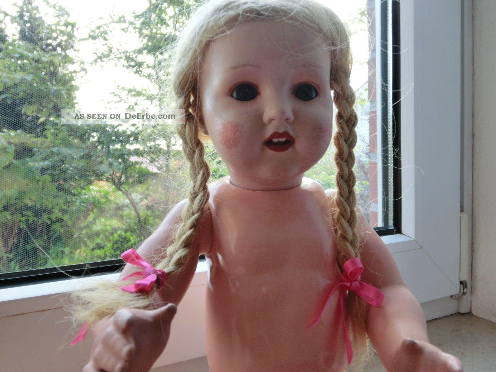 Antike Armand Marseille Puppe Porzellankopfpuppen Bild