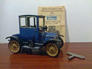 Schöner Alter Antiker Schuco Oldtimer Ford Coupe T 1917 Blechauto Bild