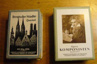 2 Alte Kartenspiele - Eins Wahrscheinlich Vor 1945 Gefertigt Bild