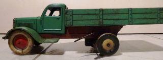 Laster Lkw Blechspielzeug Foreign Ungarn Antik Fundzustand Bild