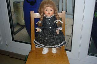 Alte Sonnenberg Puppe 2966 Ca 44 Cm Groß Mit Erhaltener Stimme Bild