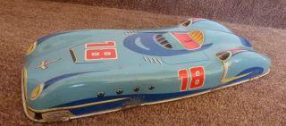 Blechspielzeug Antik Rennwagen Auto Nr.  18 Huki ?? Renner Wagen Bild