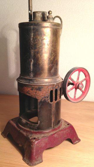 Dampfmaschine,  Plank Ernst,  E.  P,  Bastler,  Rarität,  Steam Engine,  1914,  Antik,  Defekt Bild