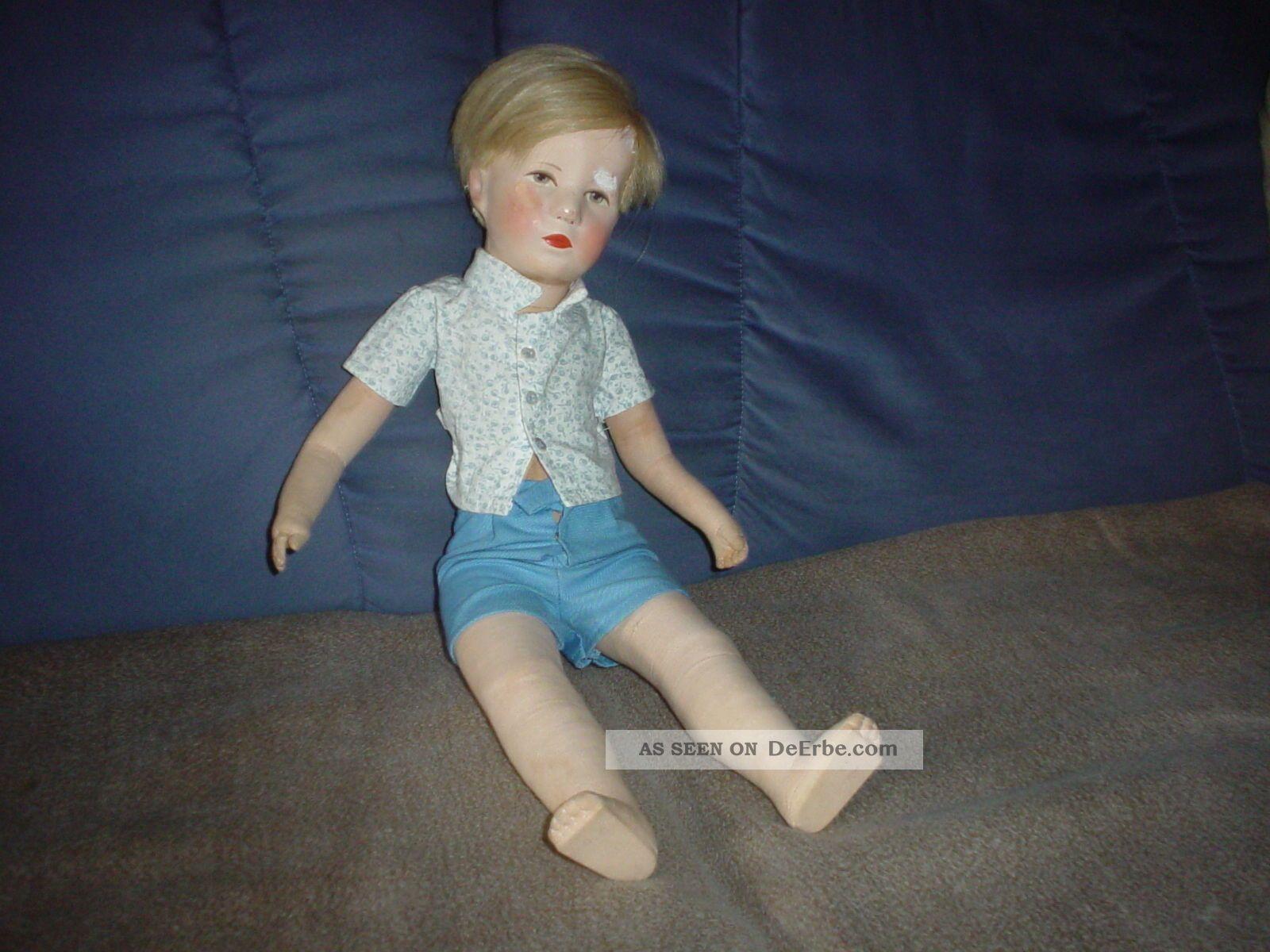 Käthe Kruse Puppe Friedebald Käthe Kruse Bild
