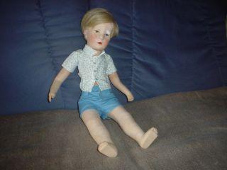 Käthe Kruse Puppe Friedebald Bild