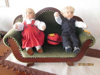 Käthe Kruse Puppen Und Nicht  Käthe Kruse - Sofa Bild