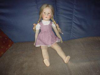 Käthe Kruse Puppe Ilsebill Bild