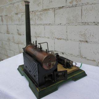 Antike Märklin Dampfmaschine Nr.  2 Germany Bild