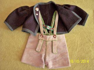 Anzug Für Puppenjungen - Schildkrötpuppe Bild