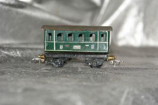 Spur H0 / 00 Eigenbau Kleinserie Personenwagen 3.  Klasse Berlin Lüp 88 Mm 115 Gr Bild
