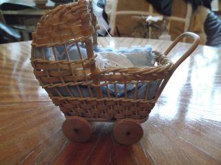 Kinderwagen Für Puppenstube Dreissiger Jahre Bild