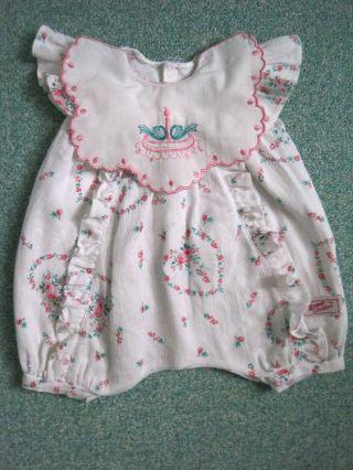 Süße Puppenkleidung Von Zapf Overall Hose Für Baby Puppe Und Strampelchen Bild