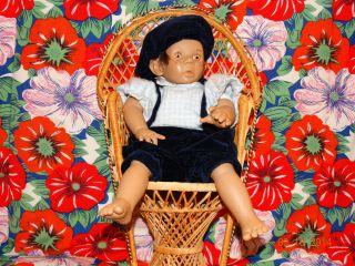 Wunderschöne Porzelan Puppe Bild