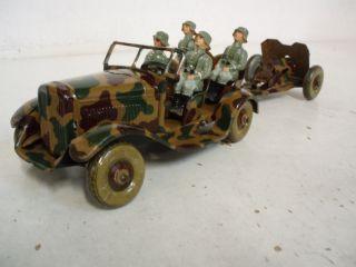Tipp & Co.  Wehrmacht - Kübel Mit Tankabwehrkanone (klein) Ca.  1938 Bild